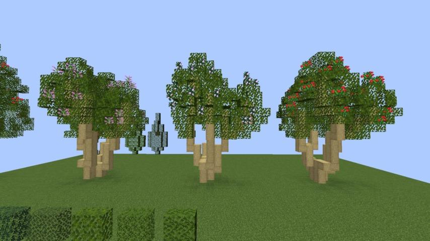 Minecrafterししゃもがマインクラフトでぷっこ村の樹木を生まれ変わらせる4