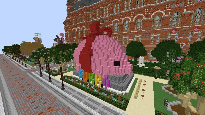 Minecrafterししゃもがマインクラフトでぷっこ村長別邸の庭園を作ってみる6