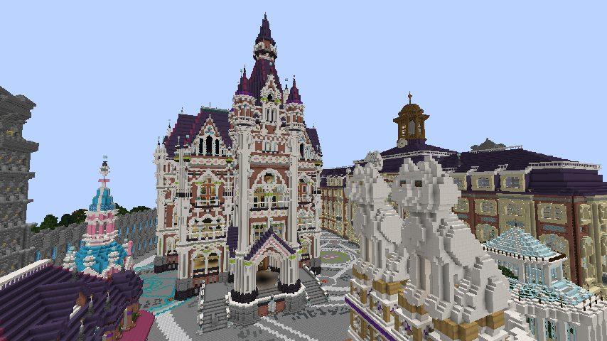 Minecrafterししゃもがマインクラフトで作った配布マップ「マッシュルームアイランド」の解説7