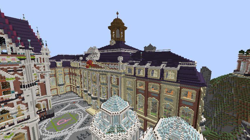 Minecrafterししゃもがマインクラフトで作った配布マップ「マッシュルームアイランド」の解説8