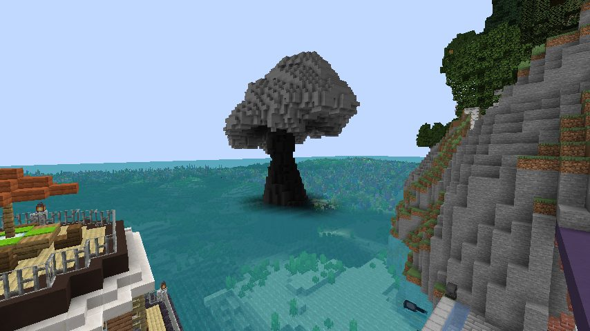Minecrafterししゃもがマインクラフトで作った配布マップ「マッシュルームアイランド」の解説5