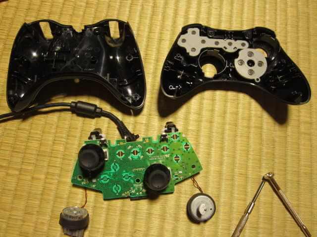 Minecrafterししゃもの中の人が断線して壊れたXboxコントローラーを気合で直す4