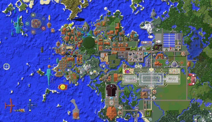 Minecrafterししゃもがマインクラフトでぷっこ村に大学を設立する5