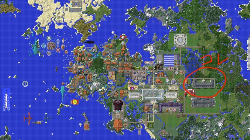 Minecrafterししゃもがマインクラフトで建築した美術館をぷっこ村に移築するよ1