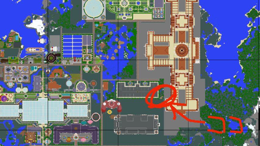 Minecrafterししゃもがマインクラフトでぷっこ村に建てた別荘が爆破される2