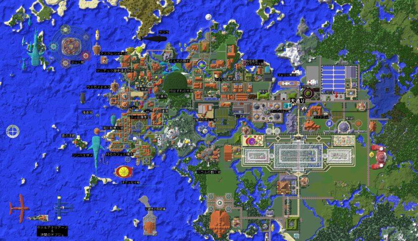 Minecrafterししゃもがマインクラフトでぷっこ村に広場を作る7