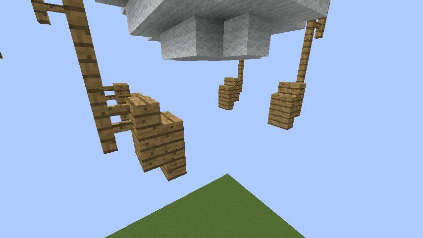 簡単にできるファイナルファンタジーに出る風の飛行船の作り方14