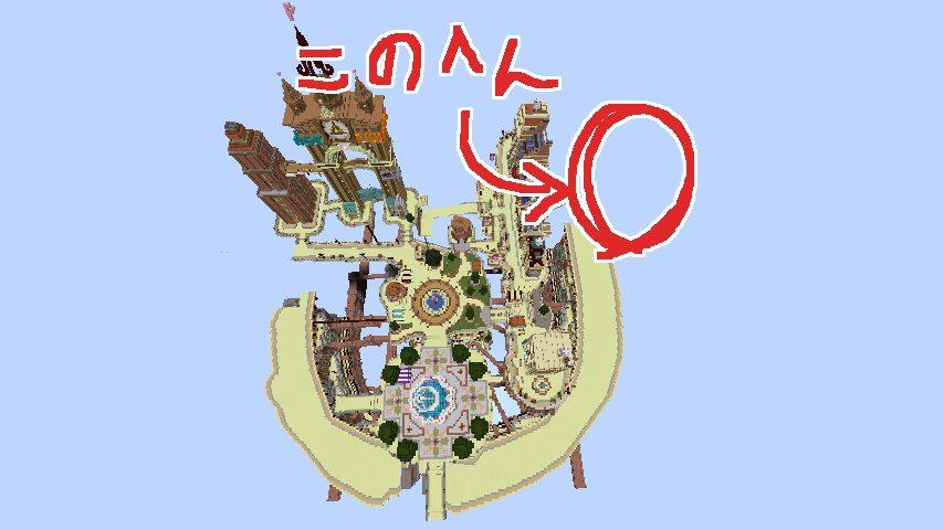 Minecrafterししゃもがマインクラフトでぷっこ村のプコサヴィル東側に着工するよ1