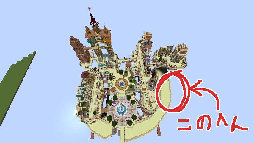 Minecrafterししゃもがマインクラフトでぷっこ村のプコサヴィル東側の続きを作る1