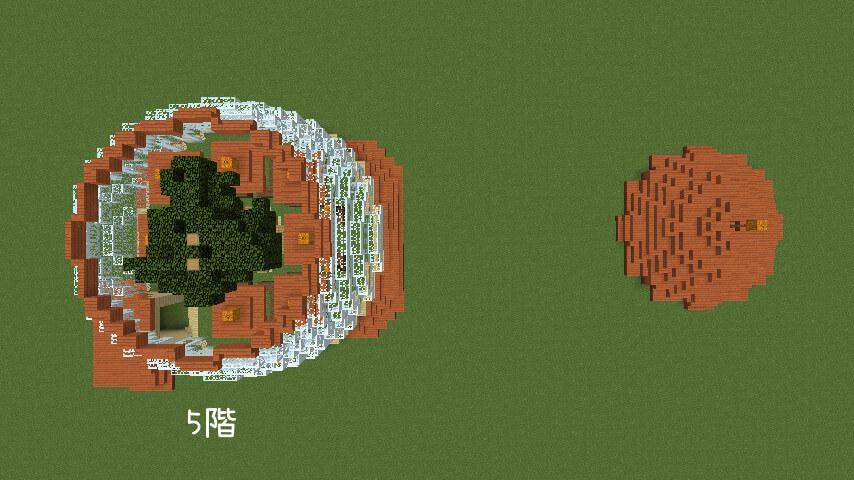 Minecrafterししゃもがマインクラフトでぷっこ村にある老舗リゾートホテルを紹介する4