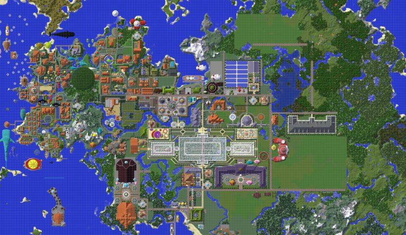 Minecrafterししゃもがマインクラフトでぷっこ村に別荘を作る12