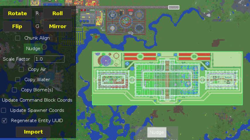 Minecrafterししゃもがマインクラフトでぷっこ村に植物園をつくる2