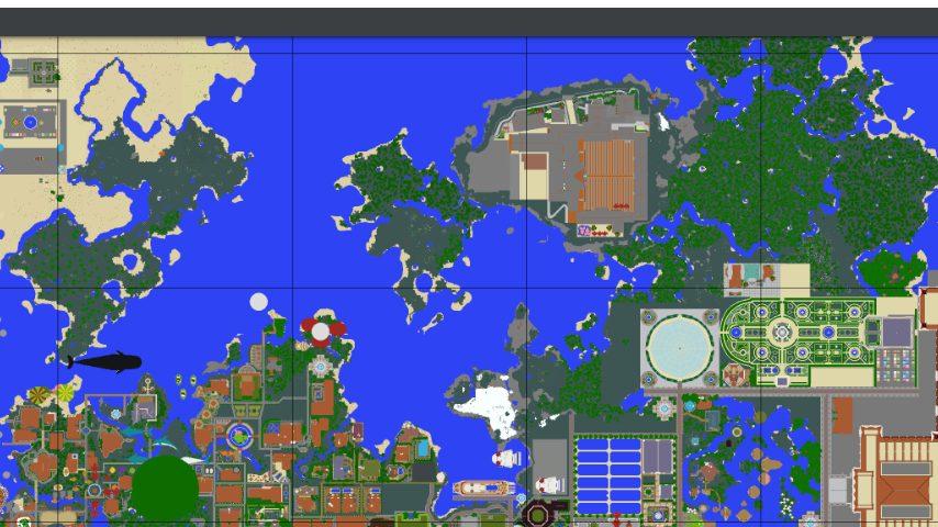 Minecrafterししゃもがマインクラフトで再建した首里城をぷっこ村に移築してみる6