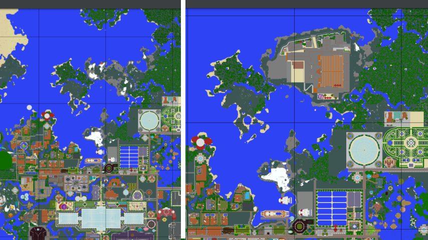Minecrafterししゃもがマインクラフトで再建した首里城をぷっこ村に移築してみる7