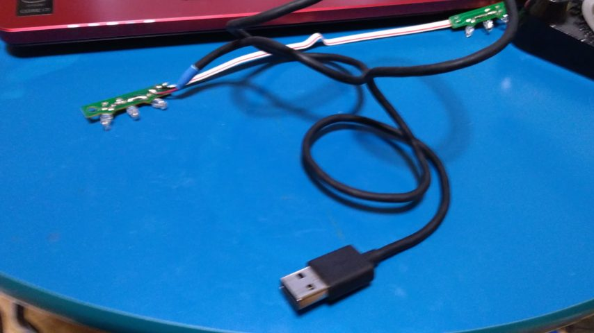 wiiのセンサーバーを5V駆動に改造するよ4