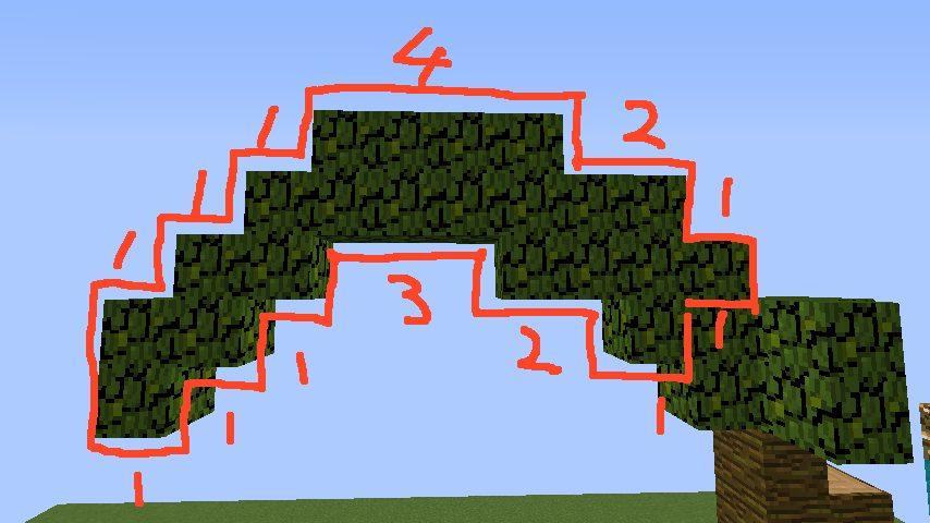 うきうきさんとにゃろりくんが簡単なのにリアルなヤシの木のつくり方を紹介する6