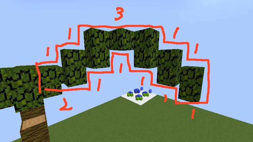 うきうきさんとにゃろりくんが簡単なのにリアルなヤシの木のつくり方を紹介する12
