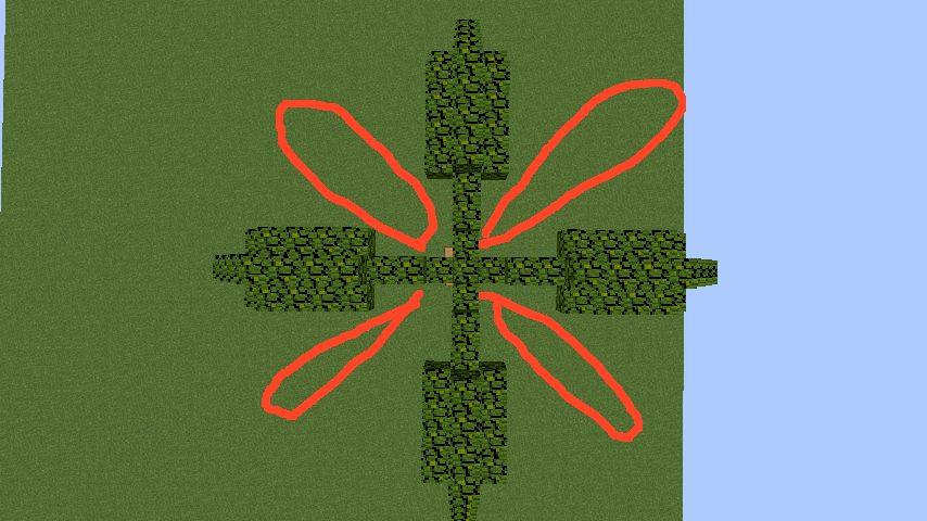 うきうきさんとにゃろりくんが簡単なのにリアルなヤシの木のつくり方を紹介する11