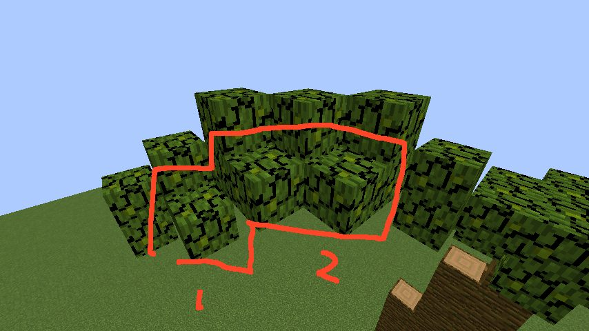 うきうきさんとにゃろりくんが簡単なのにリアルなヤシの木のつくり方を紹介する14