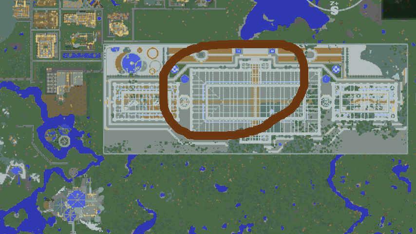 Minecrafterししゃもがマインクラフトでぷっこ村に植物園をつくる1