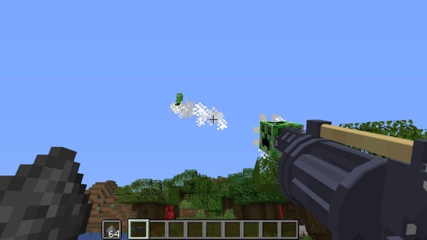 Minecrafterししゃもがマインクラフトで作ったデータパック「Creeper Launcher」の紹介をする9