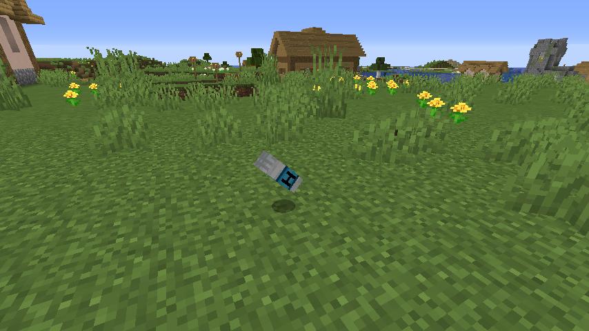 Minecrafterししゃもがマインクラフトで作ったヘリコプターが追加されるデータパック「Helicopter」を紹介する8