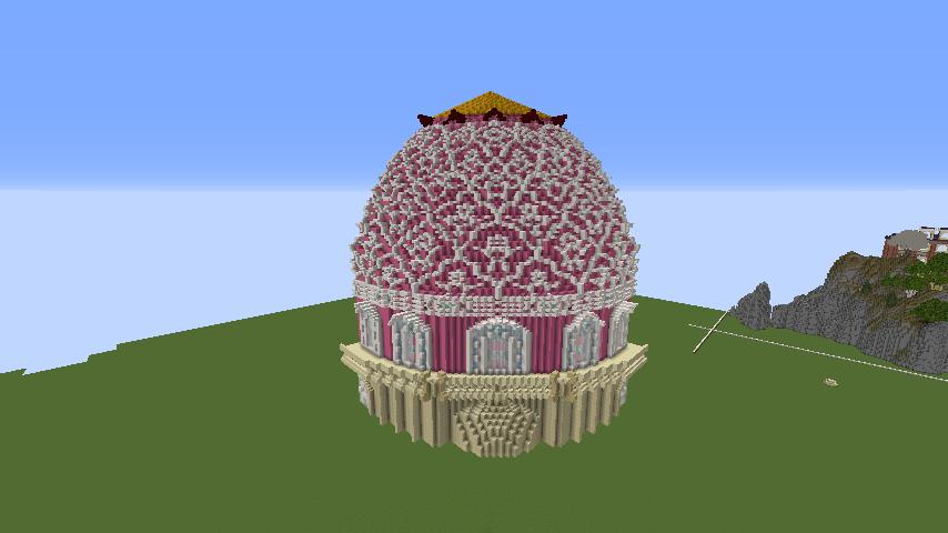 Minecrafterししゃもがマインクラフトでぷっこ村に新しい教会を作る5