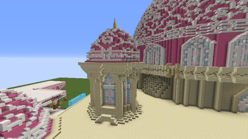 Minecrafterししゃもがマインクラフトでぷっこ村に新しい教会を作る6