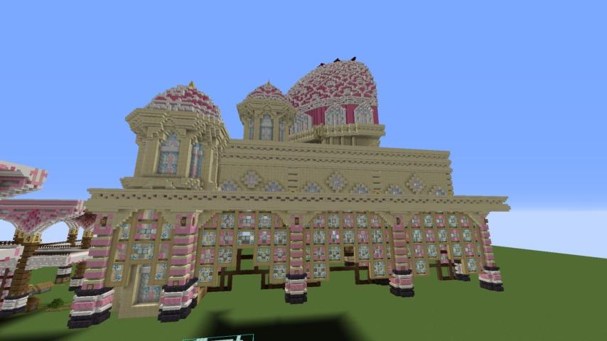 Minecrafterししゃもがマインクラフトでぷっこ村に新しい教会を作る8