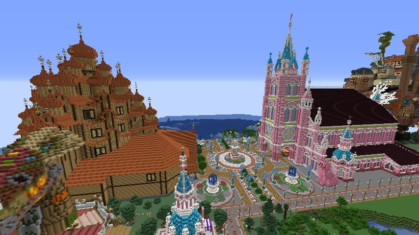Minecrafterししゃもがマインクラフトでぷっこ村に新しい教会を作る3