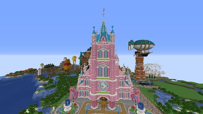 Minecrafterししゃもがマインクラフトでぷっこ村に新しい教会を作る1