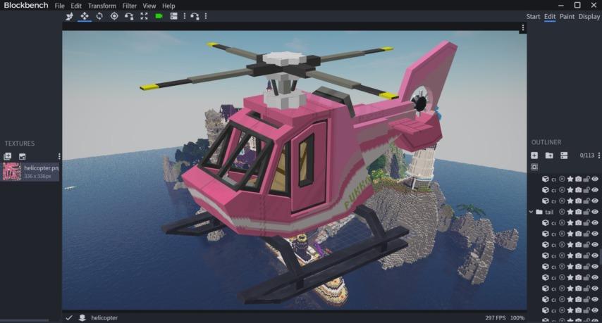 Minecrafterししゃもがマインクラフトで作ってるデータパック「Helicopter」のどうでもいいことを書いてみる1