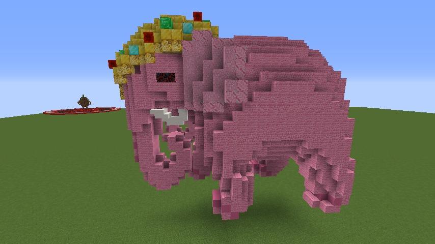Minecrafterししゃもがマインクラフトでぷっこ村にピンクモスクの内装を仕上げる7