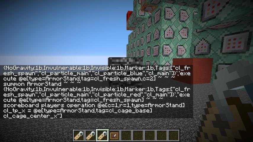 Minecrafterししゃもがマインクラフトでコマンドブロックのコマンドをmcfunctionに出力できるデータパックを作ってみた6