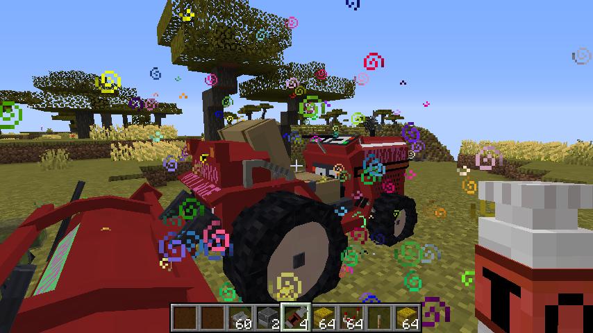 Minecrafterししゃもがマインクラフトで作った農業機械を追加するデータパック「Farming Ver.1」を紹介する8