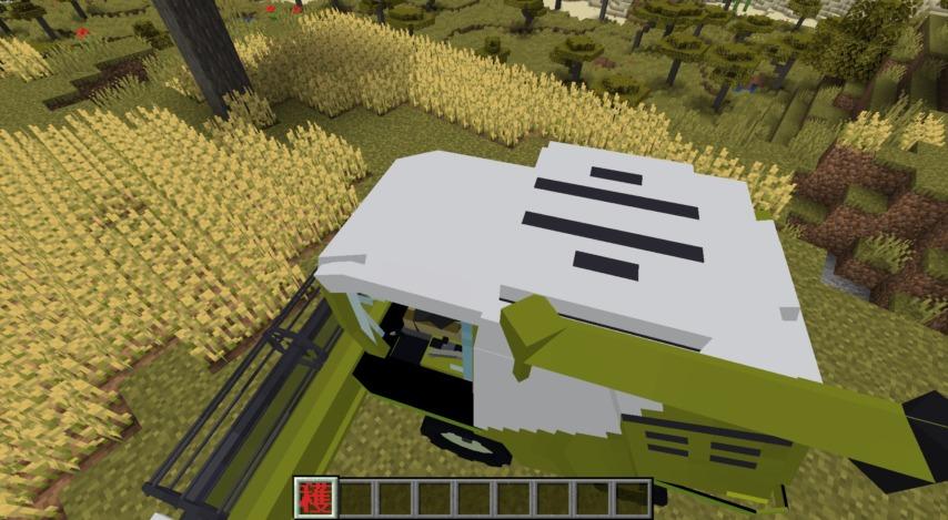 Minecrafterししゃもがマインクラフトで作った農業機械を追加するデータパック「Farming Ver.1」を紹介する17