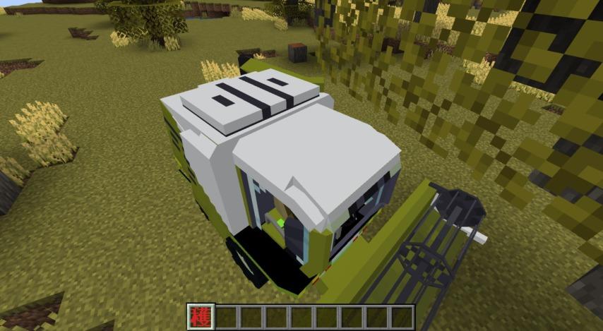 Minecrafterししゃもがマインクラフトで作った農業機械を追加するデータパック「Farming Ver.1」を紹介する18