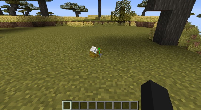 Minecrafterししゃもがマインクラフトで作った農業機械を追加するデータパック「Farming Ver.1」を紹介する19