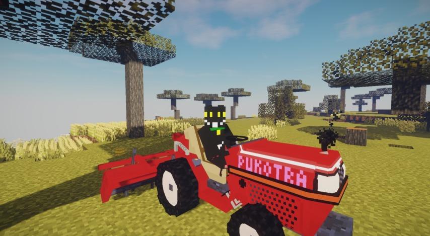 Minecrafterししゃもがマインクラフトで作った農業機械を追加するデータパック「Farming Ver.1」を紹介する21