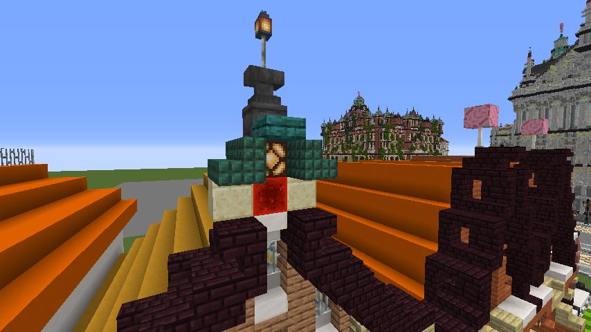 Minecrafterししゃもがマインクラフトでぷっこ村に作ってるベルギーっぽい区でボツを出してしまった話5