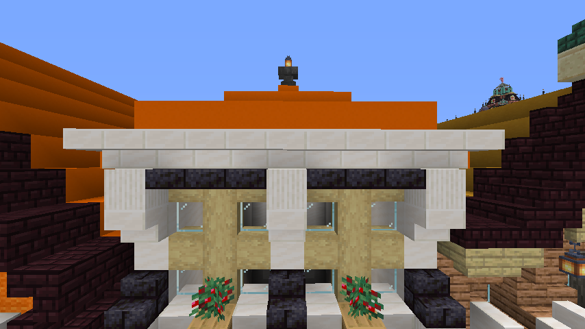 Minecrafterししゃもがマインクラフトでぷっこ村に作ってるベルギーっぽい区でボツを出してしまった話6