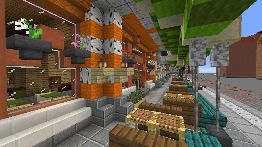 Minecrafterししゃもがマインクラフトでぷっこ村に作ってるベルギーっぽい区でボツを出してしまった話11