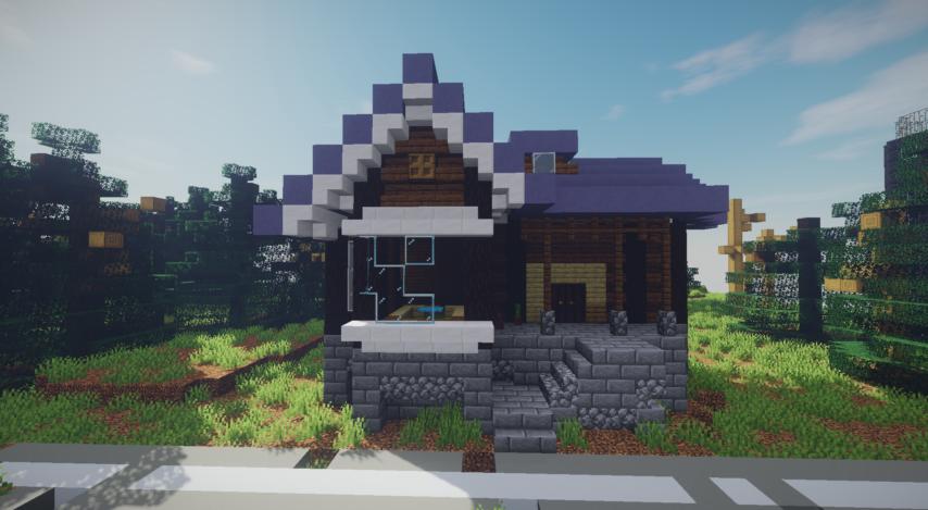 Minecrafterししゃもがマインクラフトで作った、ゾンビだらけの崩壊した都市でサバイバルするディメンションを追加するデータパック「Zombrella」を紹介する16