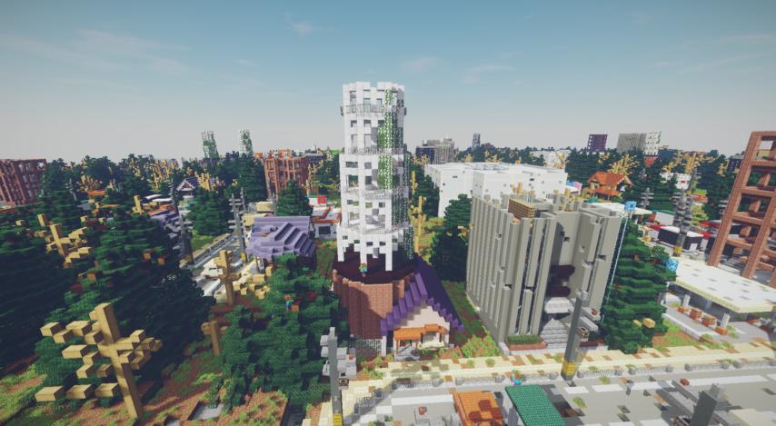 Minecrafterししゃもがマインクラフトで作ったデータパック「Zombrell Season3」を紹介する3