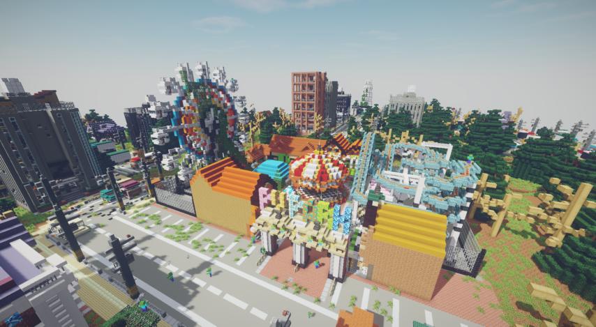 Season6で追加された遊園地。豊富な物資の他に、強敵も存在する。