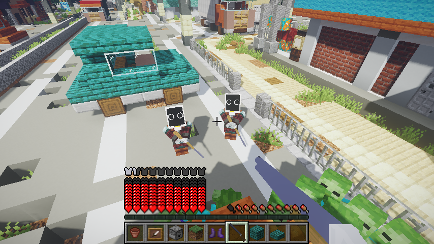 Minecrafterししゃもがマインクラフトで作ったデータパック「Zombrella Season8」を紹介する2