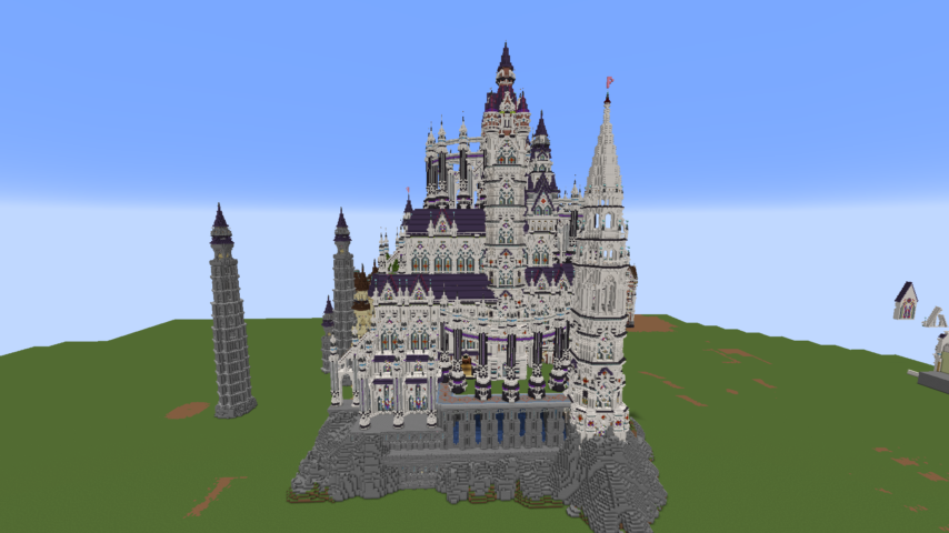 神聖ぷっこ村長国のファンタジーなお城の本体を遂に完成させた話3