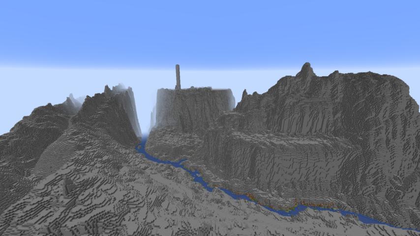 データパックで高度限界を上げてファンタジーな城を作る2