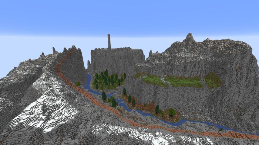 データパックで高度限界を上げてファンタジーな城を作る3