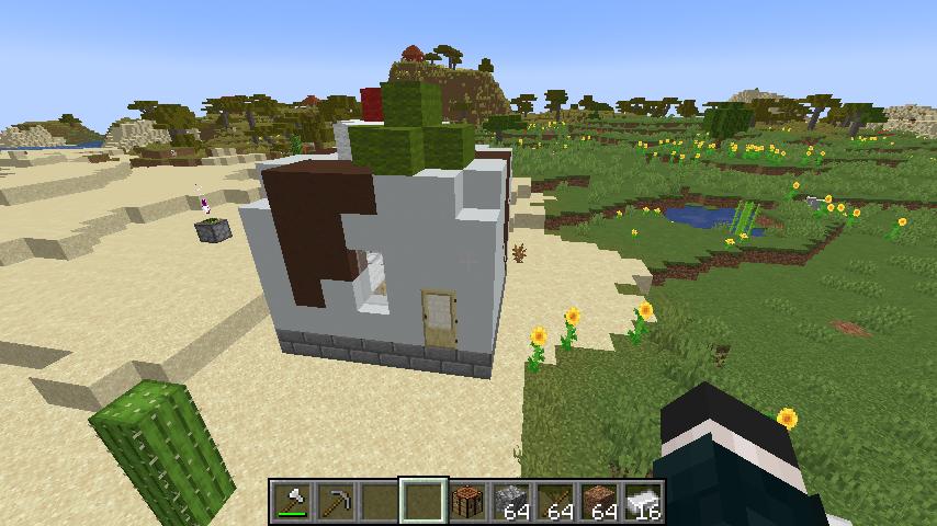 Minecrafterししゃもがマインクラフトで作ったデータパック「建てといて君」の紹介をする14